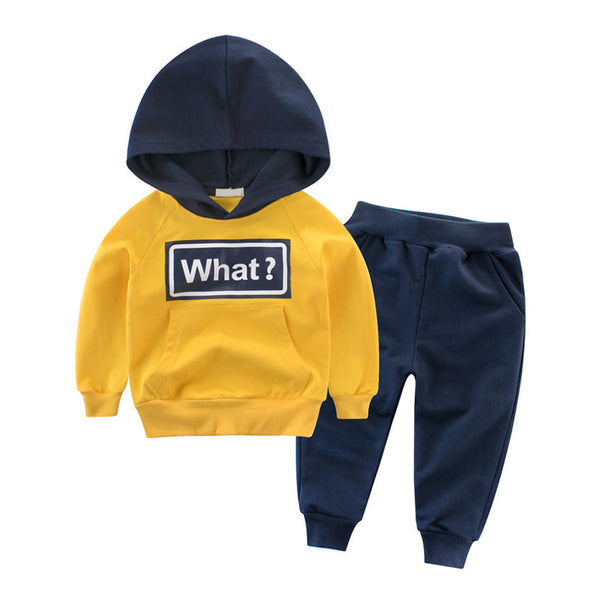 Baby Boy Coming Home Outfit Hooded T-shirt+Pants Long Sleeve Boy Outfits