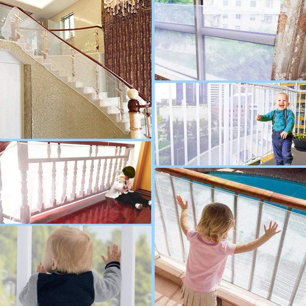 Baby Fence for Children Thickening Toddler Child Safety Net Security Gate Balcony Stairs Baby Safety Gates