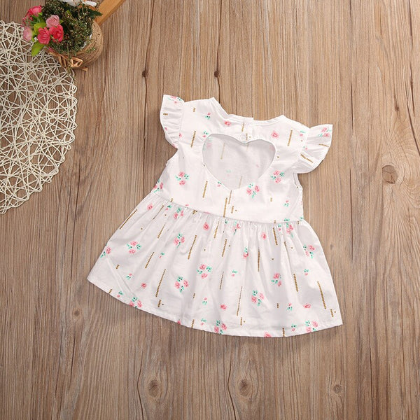 Baby Girl Coming Home Outfit Princess Flower Toddler Tutu Dress