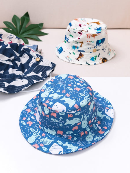 Kids Hats Summer Printing Cap For Boys And Girls Kids Cowboy Hats 6 Months To 8 Years