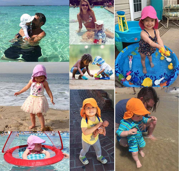 Baby Summer Hat Sun Protection Baby Caps Breathability And Quick Dry Children Sun Hat UV Protective Kids Cap