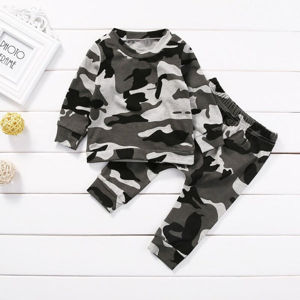 Baby Costumes For Boy T-shirt Tops + Pants