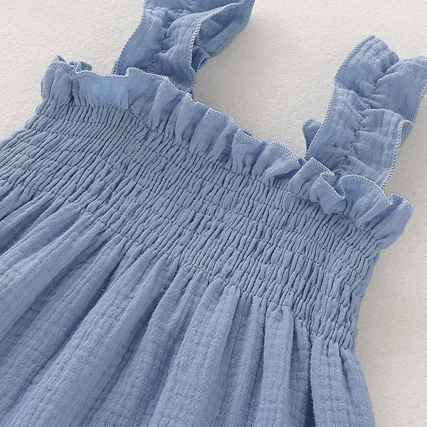 Cute Baby Outfits Cotton Slip Dress Baby Girl Dresses