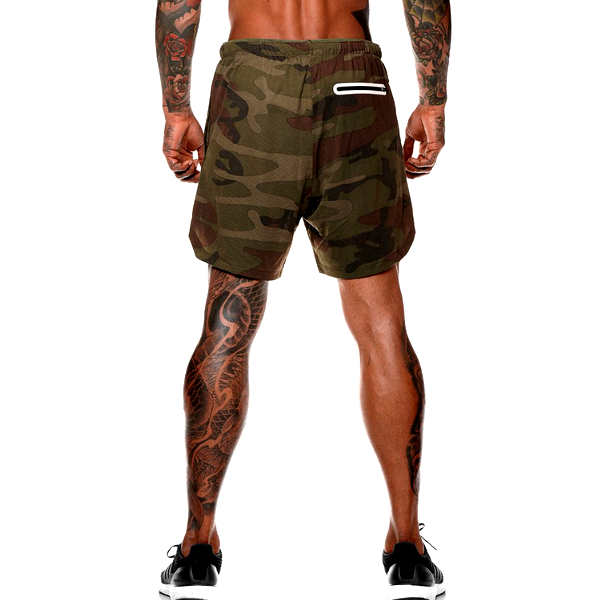 Sweat Shorts Men's Camouflage Cargo Fashion Military Summer Beach Men Gyms Short Pants Casual Loose Cotton Man Streetwear