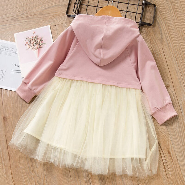 Baby Girl Easter Dress 2020 Pink/Yellow Baby Girl Dress