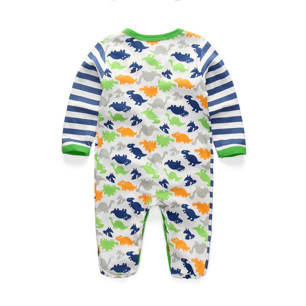 Newborn Dinosaur Clothes Baby Boy  Infant Wear Use Soft Cotton Romper Overalls Baby Rompers Clothing For New Girl Clothes 0-12M