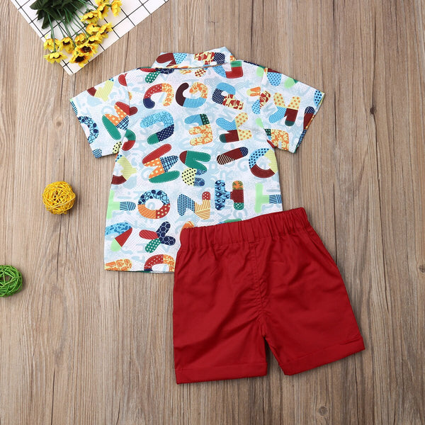 Toddler Boy Clothes 1 x Tops 1 x Pants 2-6Y