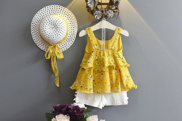 Baby Suit Layered Dress Baby Girl Coming Home Outfit