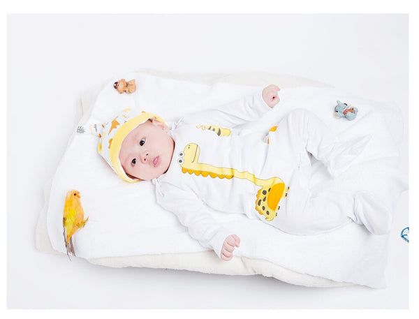 Dinosaur Baby Rompers 2019 Newborn Girl&boys Cotton Clothing Cartoon Long Sleeve Overalls Winter/ Autumn infant Clothes
