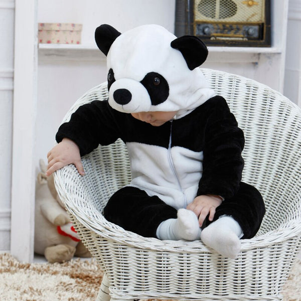 Baby Rompers Cartoon Animal Panda