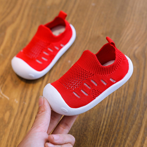Best Baby Walking Shoes Casual Breathable Mesh Shoes Soft Bottom Comfortable Non-slip Baby Walking Shoes