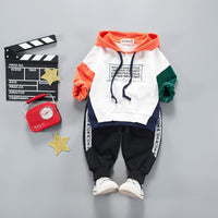Cute Baby Outfits Clothes Autumn Winter Hoodies and Pants 2pcs Baby Clothes