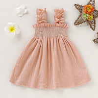 Cute Baby Outfits Cotton Slip Dress Princess Dresses For Toddlers