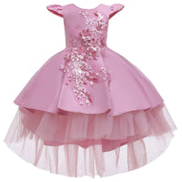 Tulle Flower Girl Dresses Birthday Outfits 3-12 Years Old