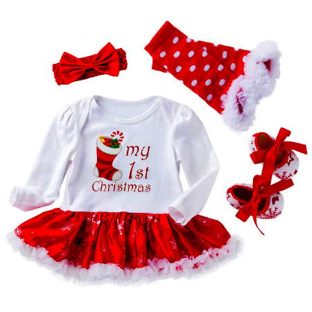 Lovely Cute Baby Christmas Dress