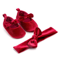 Baby First Walking Shoes Velvet Red Best First Walking Shoes
