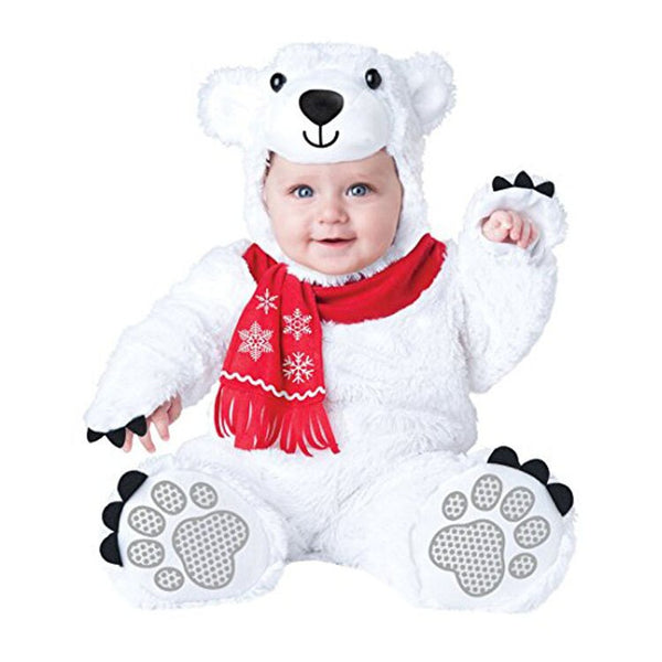 Baby First Birthday Costumes Anime Cosplay Polar Bear 6M-3T