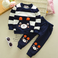 Baby Boy Going Home Outfit Autumn Winter Tshirt+Pants 2pcs Baby Clothes