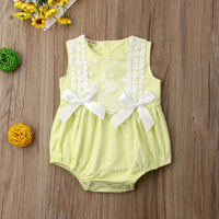 Baby Girl Rompers Lace Ruffles Newborn Costumes