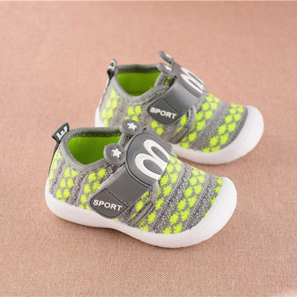 Baby Walking Shoes Mesh Soft Sole Sports Shoes Sneakers Anti-slip Best First Walking Shoes