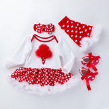 Baby Christmas Dress Newborn Baby Girl Clothes