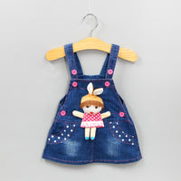 Denim Overalls Baby Girls Cotton Denim Jeans