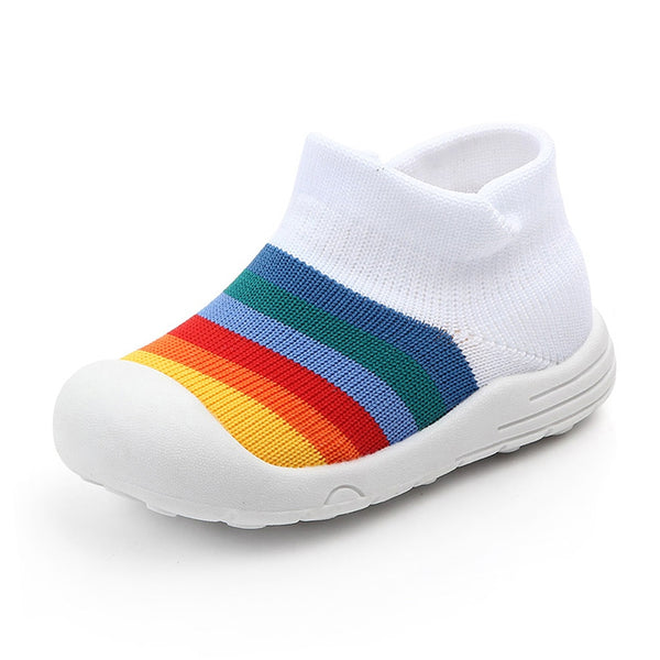 Baby First Walking Shoes Colorful Mesh Soft Sole Sports Shoes Sneakers Baby Walking Shoes