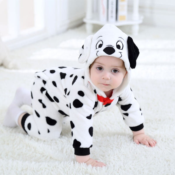 Baby Rompers Cartoon Animal Dalmatian