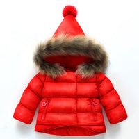 Baby Girls Jacket Hooded Baby Girl Winter Coats