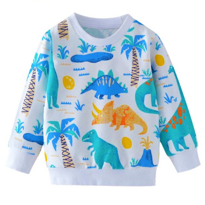 Dinosaur Sweater Boys for Little Kids