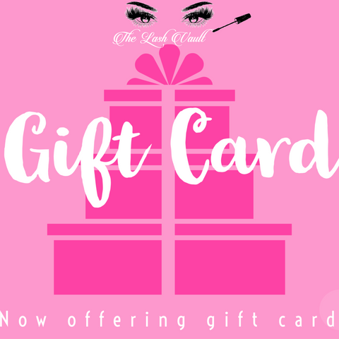 The Lash Vault Gift Card