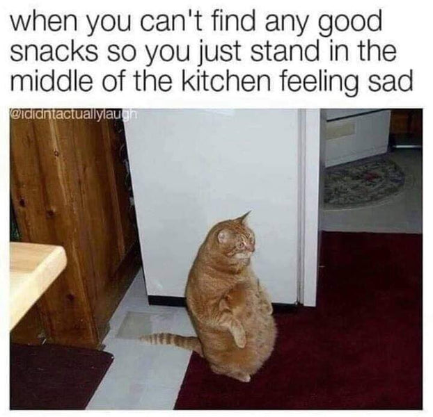 It's a sad day in the kitchen.