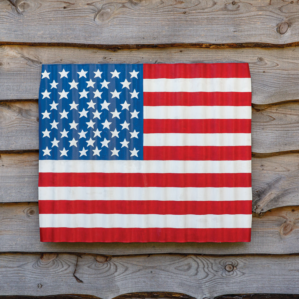 CTW Home Collection | Corrugated Wave US Flag