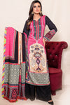 SALE Two Piece: Black Hisor Linen Kurta & Dupatta