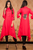 SALE Pink Kurta with Sequin & Thread Embroidery