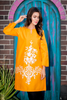 SALE Daffodil Lawn Kurta with White Embroidery