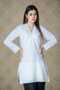 SALE White Chikan Front Cotton Kurta