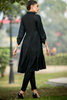 Tiered Black Kurta
