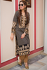 Three Piece: Sand Steps Kurta with Trouser & Scarf