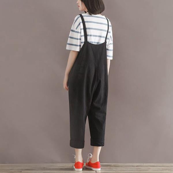 e41ba4ab4b19 Casual Low Rise Overalls (2 Colors) - Nordkudd