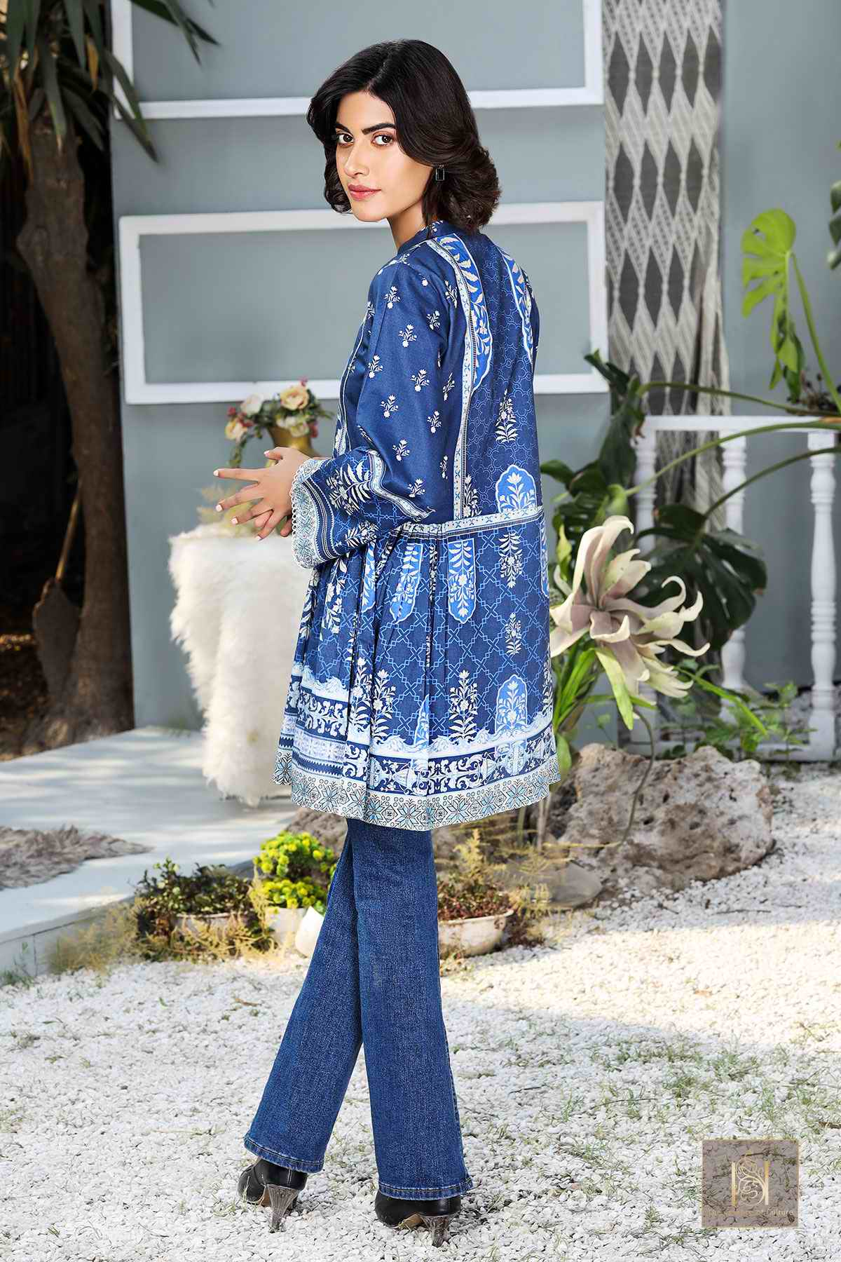 SW4004-ROYAL BLUE MOROCCAN