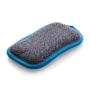 Blue Washing Up Pad, Non-Scratch Kitchen Scrubber/Wiper - Brilliant for Removing Stuck-On Food from Pots & Pans