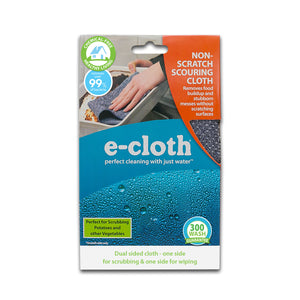 Non-Scratch Scouring Cloth - Brilliant Scrubber for Removing Grease and Stuck-On Food from Pots & Pans