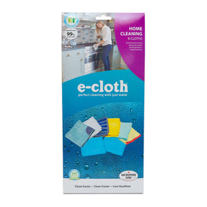 Home Cleaning Set for Chemical-Free Cleaning with Just Water - 8 Cloth Set