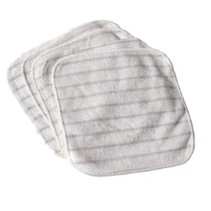 Chemical-Free Reusable Hand & Face Cleaning Cloths - 5 Cloth Set