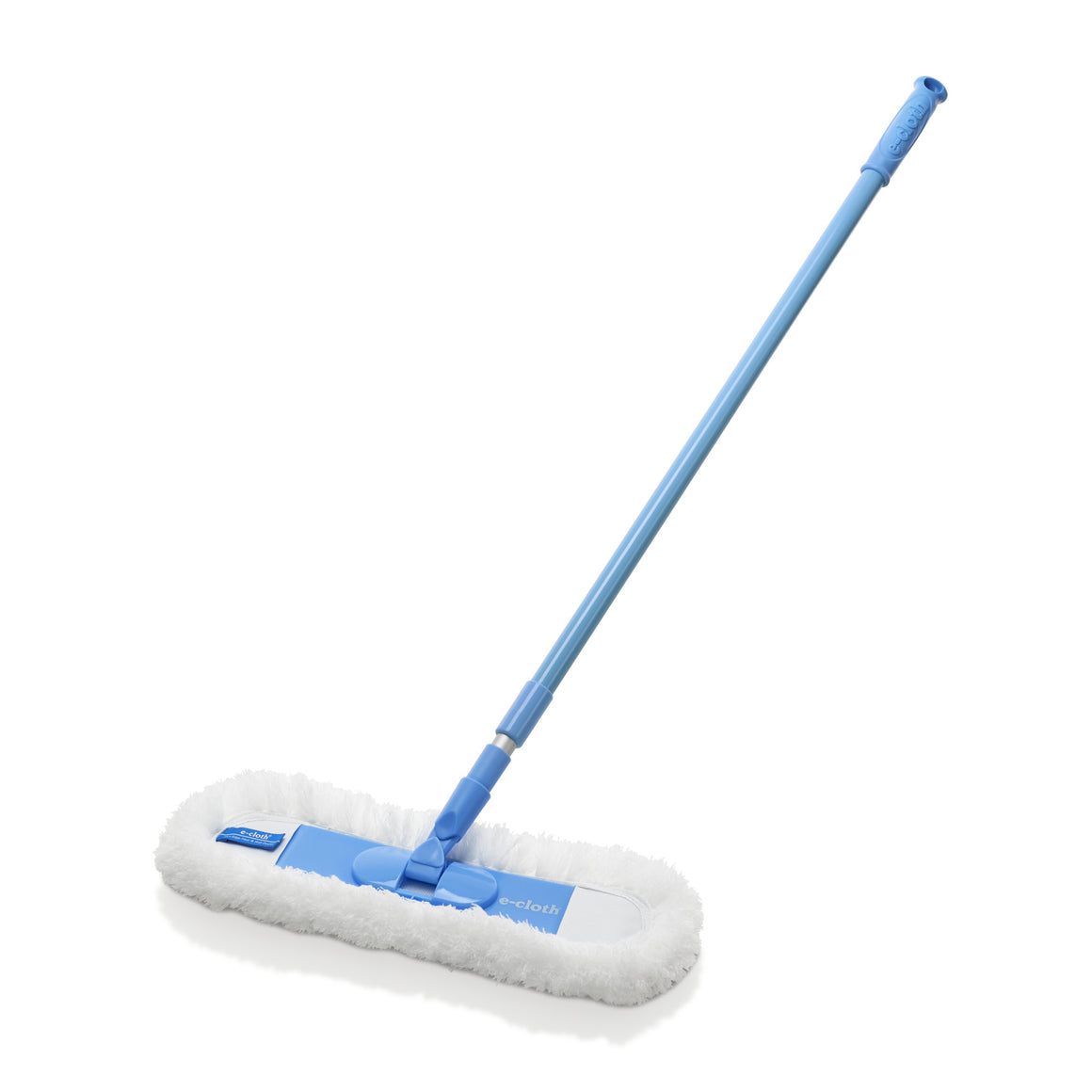 Flexi-Edge Floor & Wall Duster With Sturdy Telescoping Handle - Brilliant for Eliminating Dust, Allergens, Lint From Floors and Walls