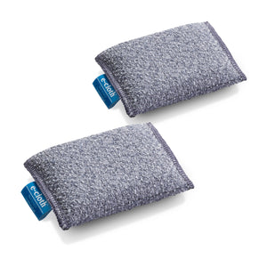 Non-Scratch Scrubbing Pad  - Brilliant Scrubber for Removing Grease and Stuck-On Food from Pots & Pans - 2 Pack