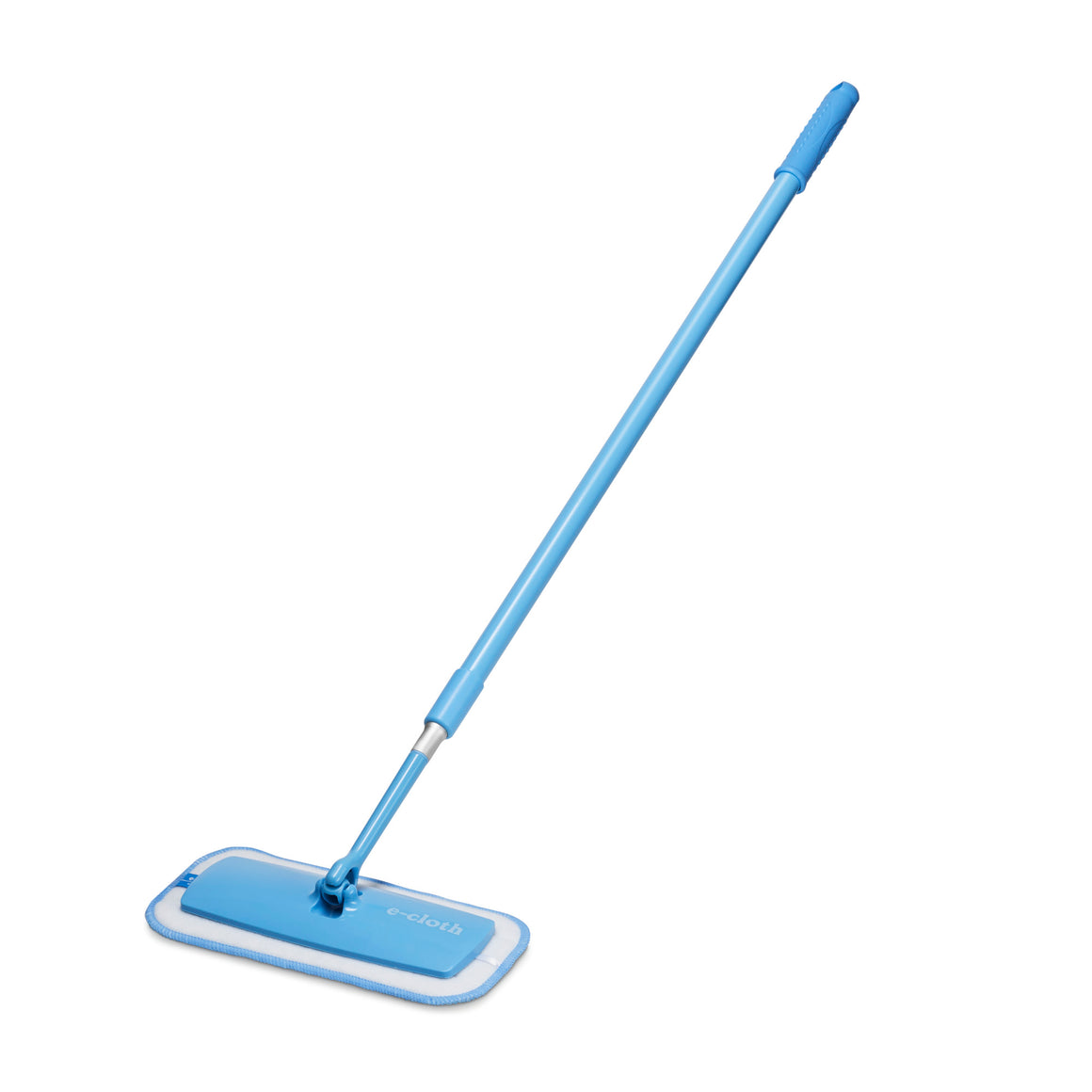 Mini Deep Clean Mop - Compact European Microfiber Damp Mop with Sturdy Telescoping Handle