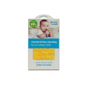 Toy & Nursery Cloth - Brilliant Chemical-Free Cleaning for Baby - Premium Microfiber - Just Add Water