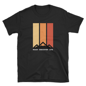 Retro Mountains T-shirt